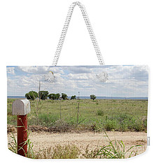 Weekender Tote Bag featuring the photograph Letters Home by Suzanne Oesterling