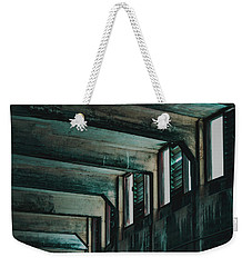 Weekender Tote Bag featuring the photograph Letting In The Light by Melissa Lane