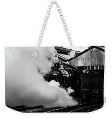 Letting Off Steam Weekender Tote Bag