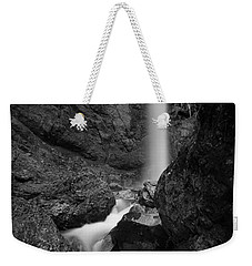 Leuenfall In Black And White Weekender Tote Bag