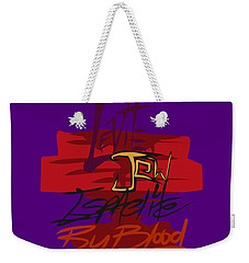 Levite By Blood Weekender Tote Bag