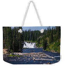 Lewis Falls Yellowstone Weekender Tote Bag