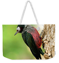 Lewis Woodpecker Weekender Tote Bag