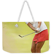 Lexi Thompson Chips To The First Green  Weekender Tote Bag