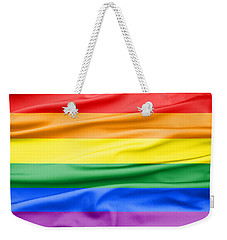 Lgbt Rainbow Flag Weekender Tote Bag