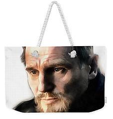 Liam Neeson Weekender Tote Bag by Sergey Lukashin