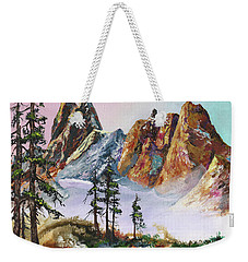 Liberty Bell Mountain Weekender Tote Bag