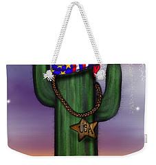 Liberty Cactus Weekender Tote Bag