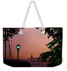Liberty Fading Seascape Weekender Tote Bag by Steve Karol