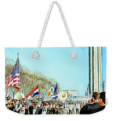 Liberty Memorial Kc Veterans Day 2001 Weekender Tote Bag