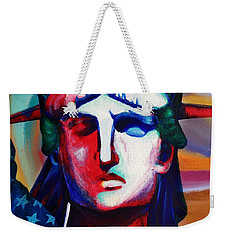 Liberty Of Statue New York 98jhm Weekender Tote Bag by Gull G