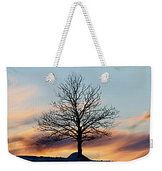 Liberty Tree Sunset Weekender Tote Bag
