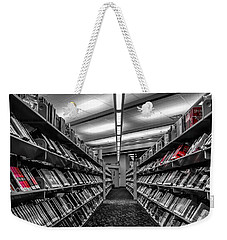 Library Books Weekender Tote Bag