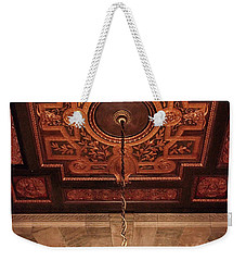 Weekender Tote Bag featuring the photograph Library Light by Jessica Jenney