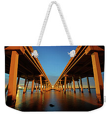 Licata Bridges In Tampa Weekender Tote Bag