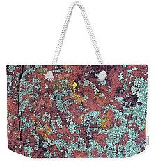 Lichen Colors Weekender Tote Bag