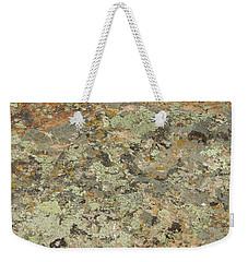Lichens On Boulder Weekender Tote Bag by Jayne Wilson