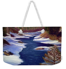 Licia's Painting Gratitude Weekender Tote Bag