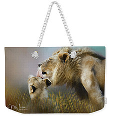 Lick Of Love Weekender Tote Bag