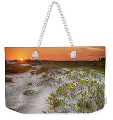 Lido Beach Sunset Weekender Tote Bag