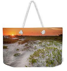 Lido Beach Sunset Weekender Tote Bag