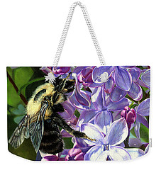 Life Among The Lilacs Weekender Tote Bag