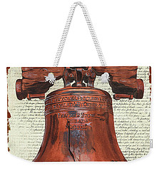Life And Liberty Weekender Tote Bag
