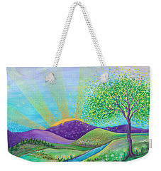 Love And Life Weekender Tote Bag