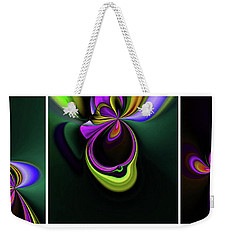 Growing Weekender Tote Bag by Elaine Hunter