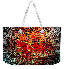 Life Begins Weekender Tote Bag by Nancy Kane Chapman