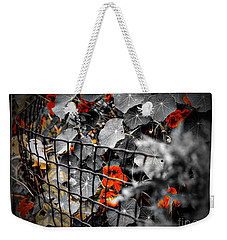 Life Behind The Wire Weekender Tote Bag
