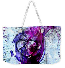 Weekender Tote Bag featuring the digital art Life By Nico Bielow by Nico Bielow