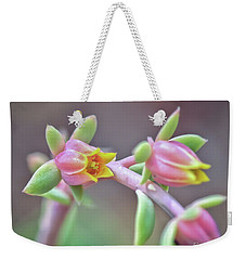 Weekender Tote Bag featuring the photograph Life Delights In Life by Kerri Farley