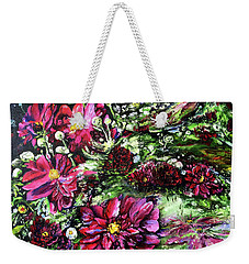 Life In A Bloom Field Weekender Tote Bag