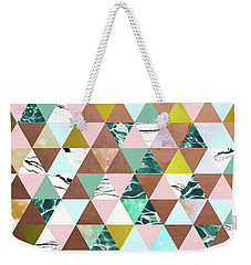 Life In A Pattern Weekender Tote Bag by Uma Gokhale