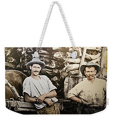 Weekender Tote Bag featuring the photograph Life In Australia 1901 To 1914 by Miroslava Jurcik