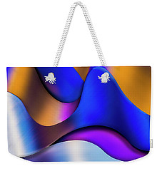 Weekender Tote Bag featuring the photograph Life In Color by Paul Wear