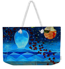 Life In Glass And Fake World Weekender Tote Bag