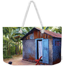 Life In Haiti Weekender Tote Bag by Janet King