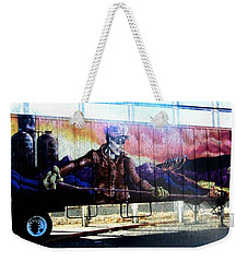 Life In Steel City Weekender Tote Bag