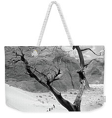 Weekender Tote Bag featuring the photograph Life In The Desert -  Arizona by Mike McGlothlen