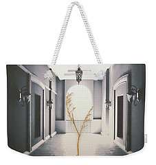Weekender Tote Bag featuring the photograph Life Inside  by Mark Ross