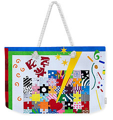 Life Is A Puzzle Weekender Tote Bag