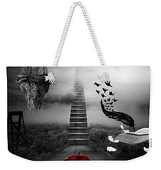 Life Is A Stage Weekender Tote Bag by Mo T