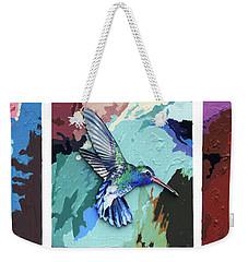 Life Is Delicate Weekender Tote Bag