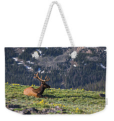 Life Is Good On The Mountain Top Weekender Tote Bag