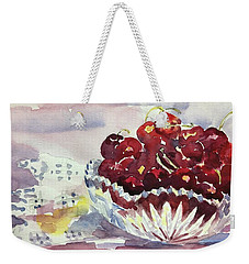 Life Is Just A Bowl Of Cherries Weekender Tote Bag