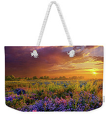 Life Is Measured In Moments Weekender Tote Bag by Phil Koch