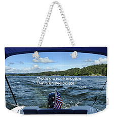 Weekender Tote Bag featuring the photograph Life Of Leisure by Peggy Hughes