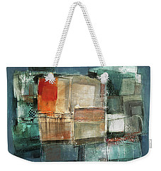 Patterns Weekender Tote Bag by Behzad Sohrabi
